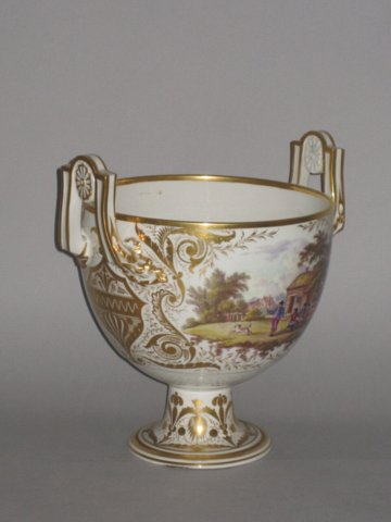 Large Derby Two Handled Cup, George III, circa 1815. - Click to enlarge and for full details.