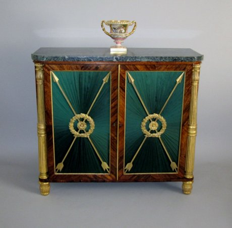 REGENCY ROSEWOOD CABINET in the manner of THOMAS HOPE or MARSH & TATHAM, CIRCA 1815. - Click to enlarge and for full details.