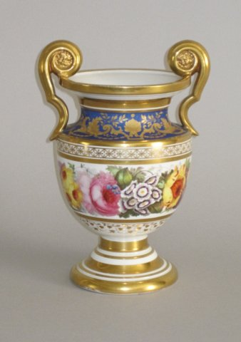 RIDGEWAY PORCELAIN VASE, CIRCA 1815-20 - Click to enlarge and for full details.
