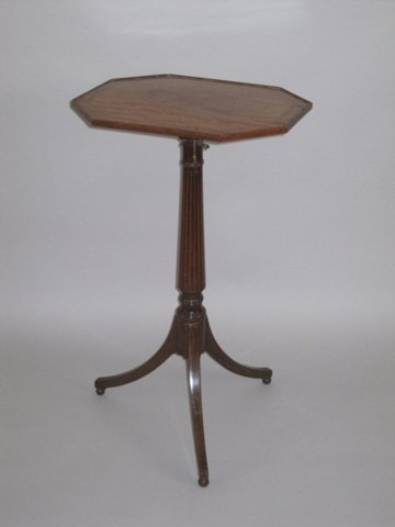 MAHOGANY READING/MUSIC/WINE TABLE CIRCA 1790 - Click to enlarge and for full details.