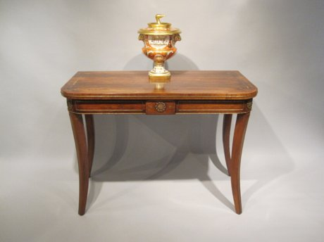 REGENCY ROSEWOOD SIDE TABLE, CIRCA 1820 - Click to enlarge and for full details.