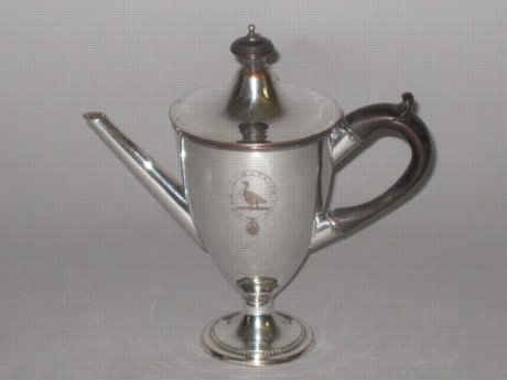 OLD SHEFFIELD PLATE SILVER ARGYLE. CIRCA 1780 - Click to enlarge and for full details.