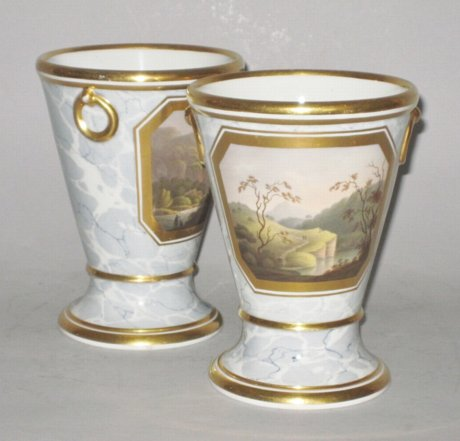 PAIR BARR FLIGHT BARR JARDINIERES. C.1804-13 - Click to enlarge and for full details.