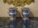 Pair Regency Period Old Sheffield Wine Coolers - Click to enlarge and for full details.